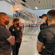 Botafogo viaja com Guilherme Santos, Ronald, Marcinho, Frizzo e Rickson; Rafael Carioca não é relacionado