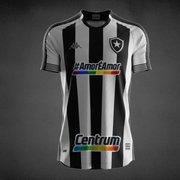 Botafogo arrecada R$ 21 mil com camisas leiloadas; valor vai para projeto LGBTQIA+
