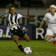 Cristiane decide, Botafogo perde para o Santos e pode entrar na zona de rebaixamento do Brasileiro Feminino