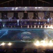 (Irado!) Estádio do Botafogo tem show de luzes e projeções em homenagem a Maradona antes de jogo da Copa América