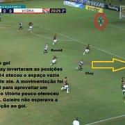 Análise: em jogo de muitos erros de passe, Chay resolve e Botafogo vence o Vitória