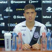 Reforço da Ponte Preta para render Apodi, Kevin fala sobre passagem pelo Botafogo: 'Período de bastante experiência'