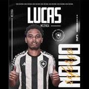 Zagueiro Lucas Mezenga celebra acerto com Botafogo: 'Vamos juntos defender e lutar pelo Glorioso'