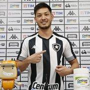 Luís Oyama é apresentado, revela papo com conterrâneo Jefferson e se impressiona com estádio do Botafogo: 'Gigante'