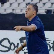Chamusca precisa tomar cuidado para não ser vítima de suas frases no Botafogo