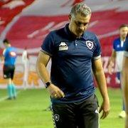 Pitacos: Botafogo precisa de mudança de mentalidade e postura; Chamusca ainda não entendeu tamanho do clube