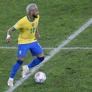 Após brilhar pela Seleção, Neymar critica gramado do Nilton Santos: 'Por favor arruma o campo'