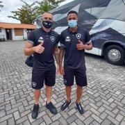 Com Pedro Castro e reforços, Botafogo viaja para Volta Redonda; Matheus Frizzo e Cesinha ficam fora