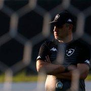 Botafogo se divide sobre Chamusca; corrente defende permanência por mais uma semana