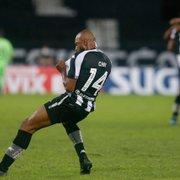 Chay representa o Botafogo em seleção da galera da 11ª rodada da Série B dominada pelo Goiás