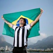 Melhor brasileiro da história no remo olímpico, Lucas Verthein recusou Flamengo por sequência e identificação com Botafogo
