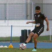 Daniel Borges leva na boa concorrência com Rafael no Botafogo: 'Estou vivendo um sonho'