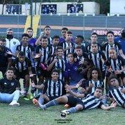 Base: Botafogo vence Volta Redonda e vai enfrentar o Flamengo nas semifinais da Copa Rio Sub-15