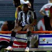 Chay e Ronald preocupam Botafogo e farão exame, revela Chamusca