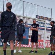 Botafogo confirmado com Lucas Mezenga, Rafael Carioca e Marco Antônio para enfrentar o Brusque