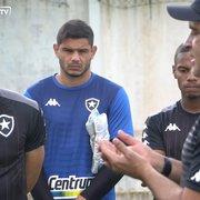 Douglas Borges projeta duelo com CRB e fala sobre luta do Botafogo por primeira vitória fora: 'Está batendo na trave'