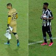 ATUAÇÕES FN: Douglas Borges e Rafael Carioca vão mal em derrota do Botafogo para o CRB
