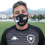 Coordenador do Botafogo relembra protocolos e celebra volta da torcida: 'Força a mais'