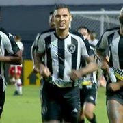 Algo de bom… Rafael Navarro evolui a cada jogo pelo Botafogo
