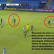 Análise: Botafogo piora com Barreto e se salva no final contra o Avaí