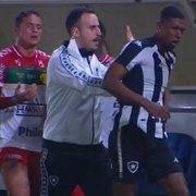 Brusque x Botafogo: árbitro apenas relata confusão pós-jogo na súmula, sem citar nomes