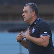 Botafogo faz reunião e pode demitir Marcelo Chamusca neste domingo