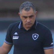 Repórter: Botafogo deve demitir Chamusca nesta segunda-feira