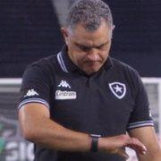 Botafogo tem favorito para novo técnico e faz sondagem antes de demitir Chamusca