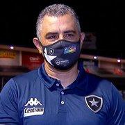 Chamusca será o primeiro 'cozido de técnico'. Postura do Botafogo vai viralizar