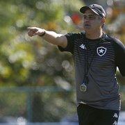 Falta de tempo, Chamusca? Botafogo é um dos times da Série B que menos jogou este ano