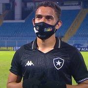 Marco Antônio dedica seu gol à mãe e exalta luta do Botafogo: 'A gente se sobressaiu o jogo todo'