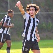 Matheus Nascimento, Ênio e Vitinho reforçam sub-20 do Botafogo contra o Flamengo