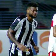 Rafael Carioca fica fora de relação e terá futuro avaliado pelo Botafogo