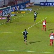 ATUAÇÕES FN: Rafael Moura perde bola do jogo, Rickson e Warley entram mal em Brusque 2 x 1 Botafogo