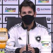 Ricardo Resende confia em Enderson para Botafogo reagir: 'Tenho certeza de que iremos voltar às vitórias'