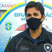 Pitacos: Ricardo Resende teve noite de Chamusca no Botafogo; Rickson improvisado? Por que Rafael Navarro sempre sai?