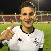 Romildo celebra primeiro gol pelo Botafogo: 'Gratidão por esse momento'