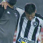 Botafogo: Ronald sofre lesão ligamentar no tornozelo e pode passar por cirurgia