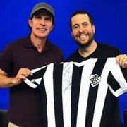 Túlio Maravilha revela que saída do Botafogo para Corinthians, em 1997, foi por causa de salário atrasado