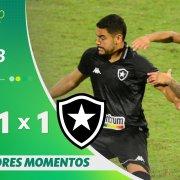 VÍDEO: Gols e melhores momentos do empate entre Avaí e Botafogo na Ressacada