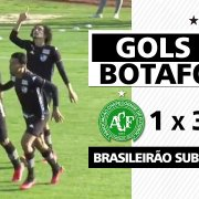 VÍDEO: Matheus Nascimento marca de novo, e Botafogo bate Chapecoense de virada no Brasileirão Sub-20; veja gols