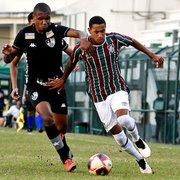 Base: Botafogo empata com o Fluminense nas Laranjeiras pelo Carioca Sub-20