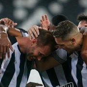 Caio Alexandre, Igor Rabello e outros ex-Botafogo celebram Carli por volta com gol: 'Merecido demais'
