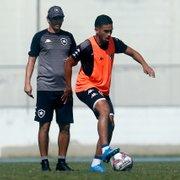Marco Antônio vira líder em desarmes no Botafogo: 'Fico contente com esses números'