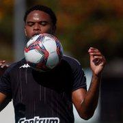 Lucas Mezenga pede rescisão com Botafogo na Justiça alegando atraso no FGTS
