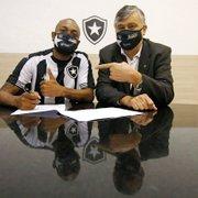 Durcesio exalta Chay após compra: 'Certamente vai ajudar o Botafogo a voltar à Série A'