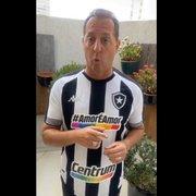 Benjamin Back entra em campanha da Centrum e do Botafogo contra a LGBTfobia