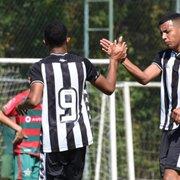 Base: Botafogo sub-15 vence Boavista fora de casa e segue 100% no Carioca; sub-17 empata