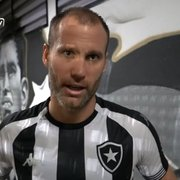 Carli recorda gol e se declara ao Botafogo: 'Emocionante, sensação única. Amo muito esse clube'