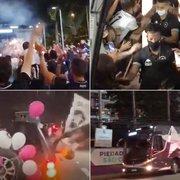 Foguetório, cantoria e buzinaço: torcida do Botafogo faz Carreata Gloriosa e empurra time rumo à quarta vitória seguida na Série B. Veja vídeo!